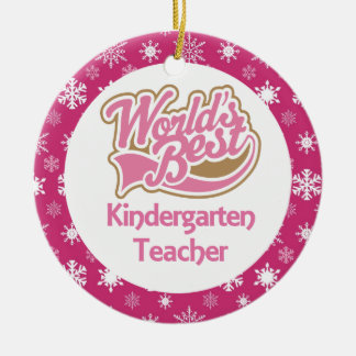Kindergarten Teacher Ornament