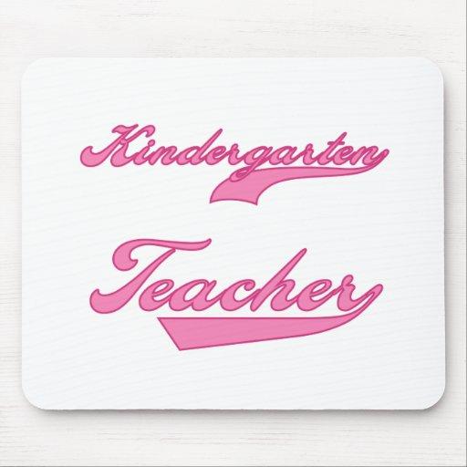 Kindergarten Teacher Pink Mouse Mats