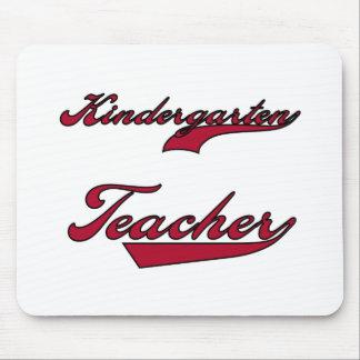 Kindergarten Teacher Red Mouse Pad