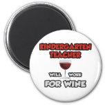Kindergarten Teacher ... Will Work For Wine