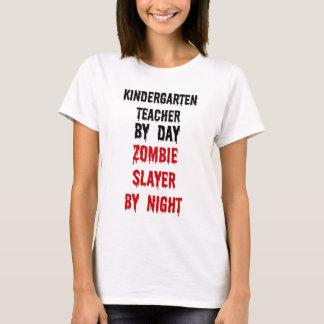 Kindergarten Teacher Zombie Slayer T-Shirt