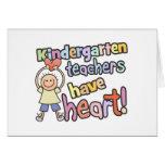 Kindergarten Teachers Have Heart