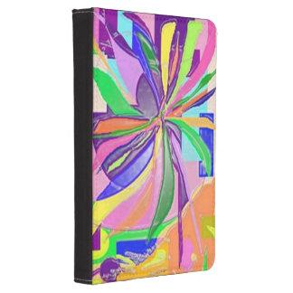 Kindle 4 / Kindle Touch Case Flower Wrap Design