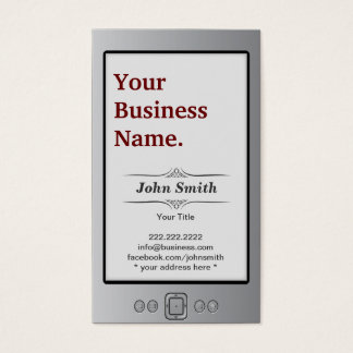 Kindle Book Style Business Card