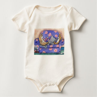 Kindles and books do mix! baby bodysuit