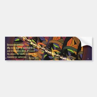 Kindly Harvest Moon Bumper Sticker