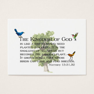 Kindness and Kingdom Whispers Business Card