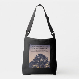 Kindness and Truth - Proverbs 3:3 Crossbody Bag