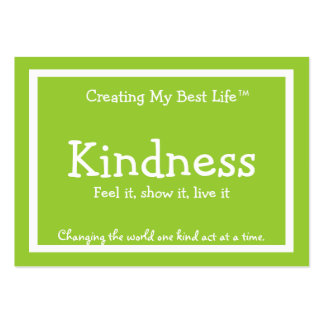 Kindness Card - Green Business Cards