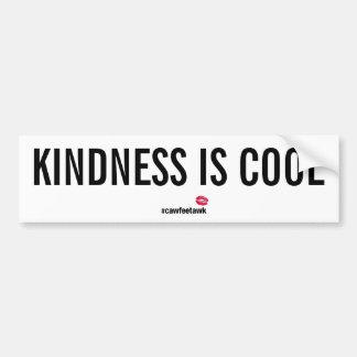 Kindness Is Cool (Bumper Sticker) Bumper Sticker