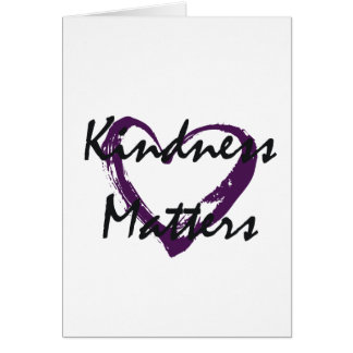 Kindness Matters Heart Cards