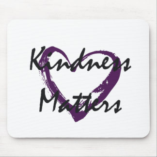 Kindness Matters Heart Mouse Pad