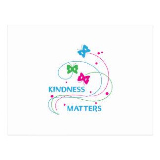 KINDNESS MATTERS POSTCARD