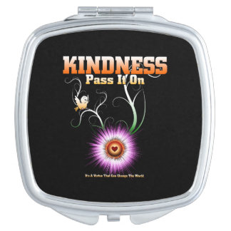 KINDNESS - Pass It On Compact Mirror
