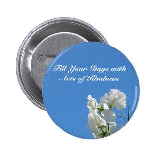 Kindness Sweetpea Button