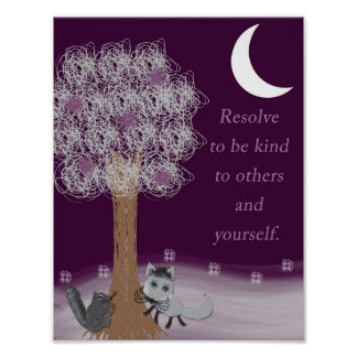 Kindness Tree Poster