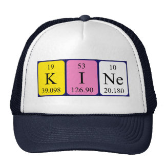 Kine periodic table name hat