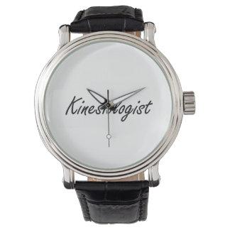 Kinesiologist Artistic Job Design Wristwatch