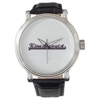 Kinesiologist Classic Job Design Wristwatch