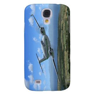 King-Air Turboprop Aircraft Galaxy S4 Case