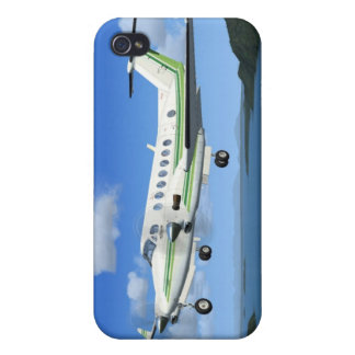 King-Air Turboprop Aircraft iPhone 4 Cases