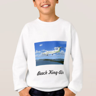 King-Air Turboprop Aircraft Sweatshirt