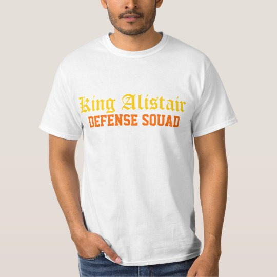 King Alistair: Defence Squad T-Shirt