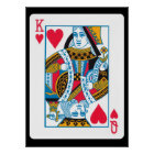 King and Queen of Hearts Poster
