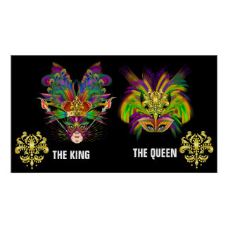 King and Queen Poster