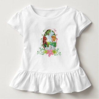 King and Queen Toddler Ruffle Tee