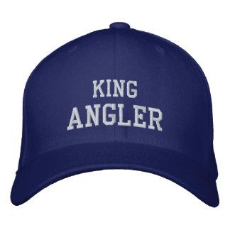 KING, ANGLER EMBROIDERED BASEBALL CAPS