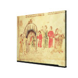 King Arthur and his Court, from the Roman Stretched Canvas Prints