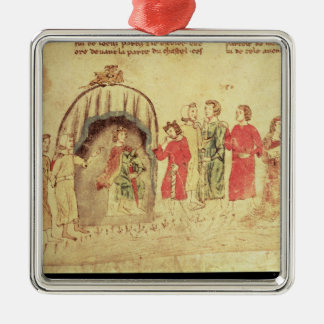 King Arthur and his Court, from the Roman Christmas Ornament