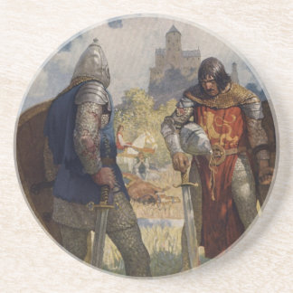 King Arthur & Castle Coaster