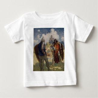 King Arthur & Castle T Shirts