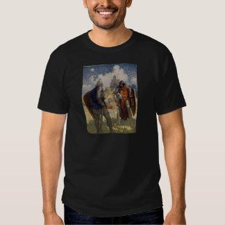 King Arthur & Castle Tshirts