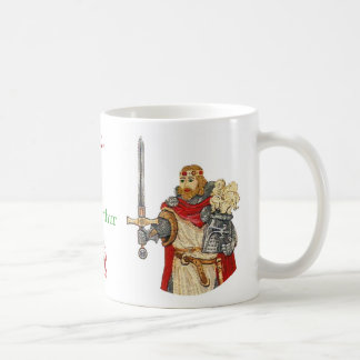 King Arthur Defender of the Realm Series Coffee Mug