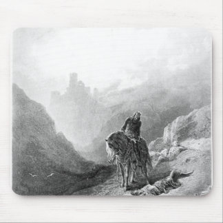 King Arthur discovers the Skeletons Mouse Mat