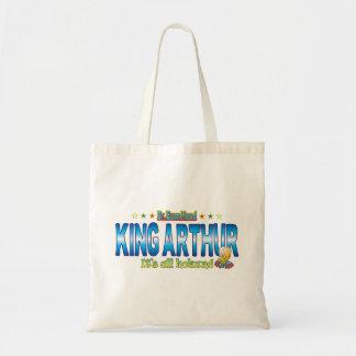 King Arthur Dr. B Head Budget Tote Bag