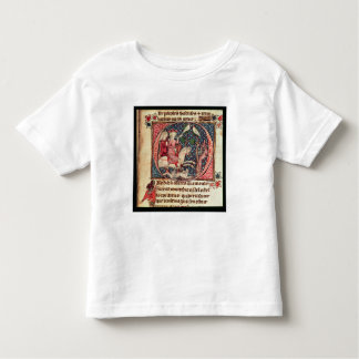 King Arthur Hunting, from the 'Romance of Merlin' Toddler T-Shirt