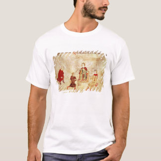 King Arthur on his Throne Surrounded T-Shirt