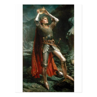 King Arthur Postcard