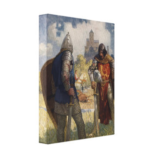 King Arthur Series 4 Canvas Art Gallery Wrapped Canvas