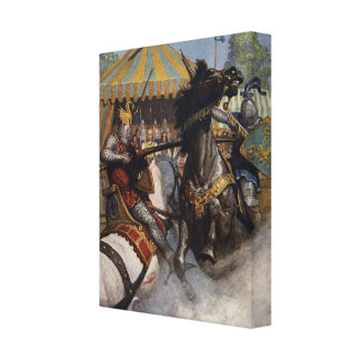 King Arthur Series 6 Canvas Art Canvas Print