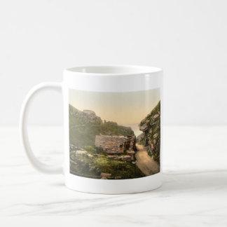 King Arthur's Castle I, Tintagel, Cornwall Basic White Mug