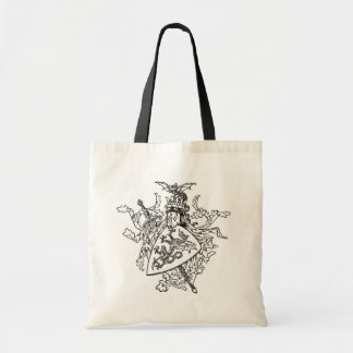 King Arthur's Coat of Arms Budget Tote Bag