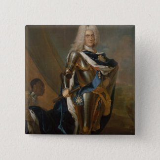 King Augustus II of Poland, before 1730 15 Cm Square Badge