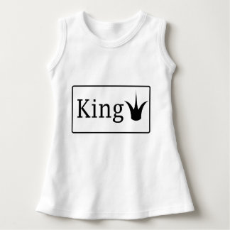 King baby sleeveless dress
