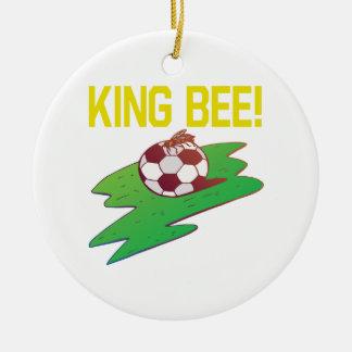 King Bee Christmas Ornament