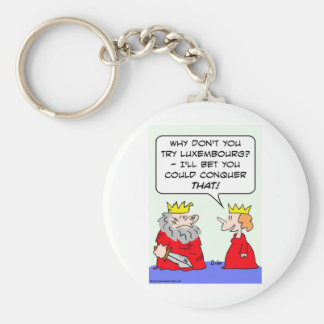 king bet could conquer luxembourg keychain